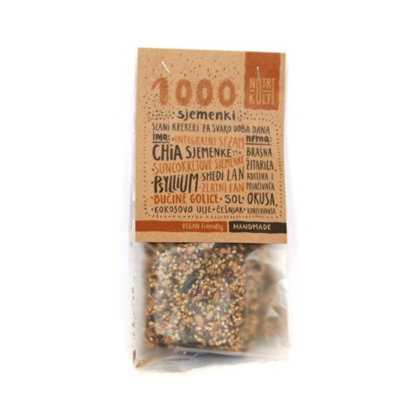 Nutri Kulti krekeri 1000 sjemenki